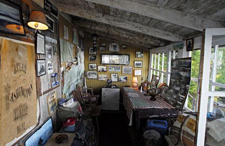 cathance lake maine lake front cottage rental canoe base camp